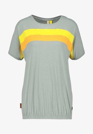 DINAAK - Print T-shirt - slategray