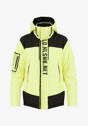 Winter jacket - neon yellow