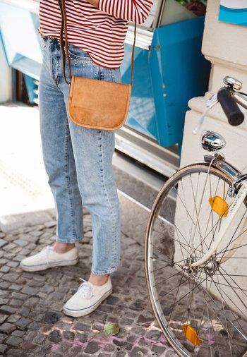 KLEINE SUMMER S - Across body bag - braun