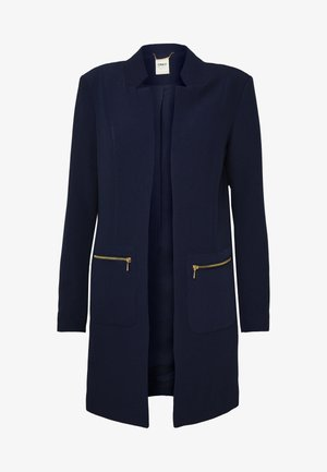ONLLINEA MIRIAM ZIP COATIGAN  - Kurzmantel - peacoat