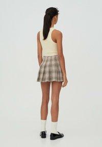 PULL&BEAR - A-snit nederdel/ A-formede nederdele - rose - 2