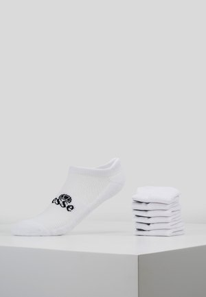 6 PACK TRAINER LINER - Socken - white