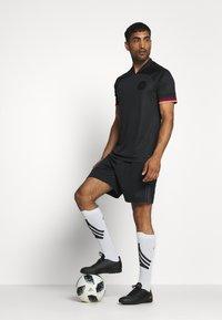 adidas Performance - DFB DEUTSCHLAND A SHO - Träningsshorts - black - 1