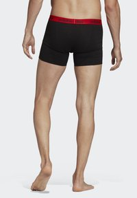 adidas Performance - BRIEFS 3 PAIRS - Pants - red - 1