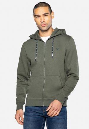TANGERINE - Zip-up hoodie - dark khaki