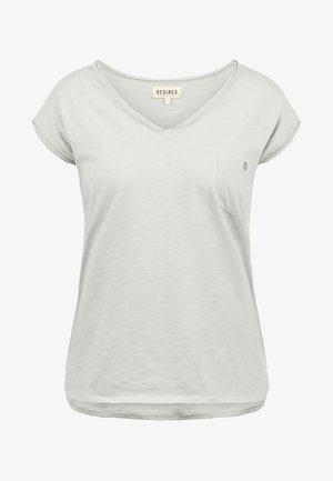 LYNN - Basic T-shirt - light grey