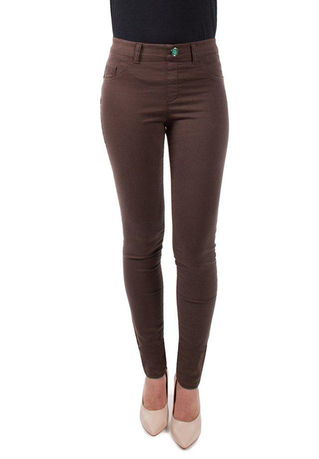 Jeans Skinny Fit - marrone