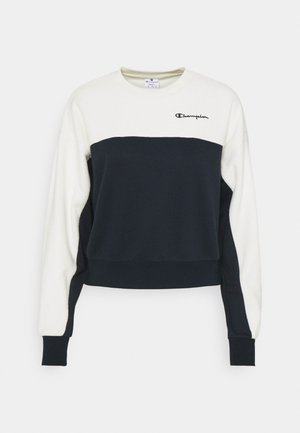CREWNECK  - Sweater - dark blue/white