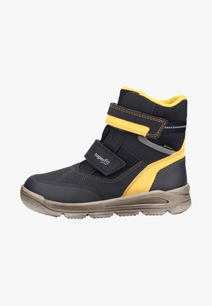 Classic ankle boots - blue/yellow