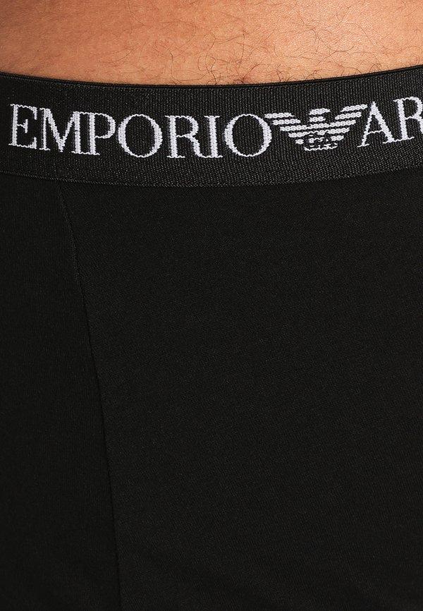 Emporio Armani TRUNK 3 PACK - Panty - black/czarny Odzież Męska ZCRF