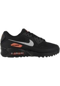 Nike Sportswear - AIR MAX 90 - Sneakers - black-total orange-reflect silver - 4