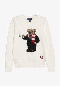 Polo Ralph Lauren - HOTCOCO BEAR - Strickpullover - clubhouse cream - 2