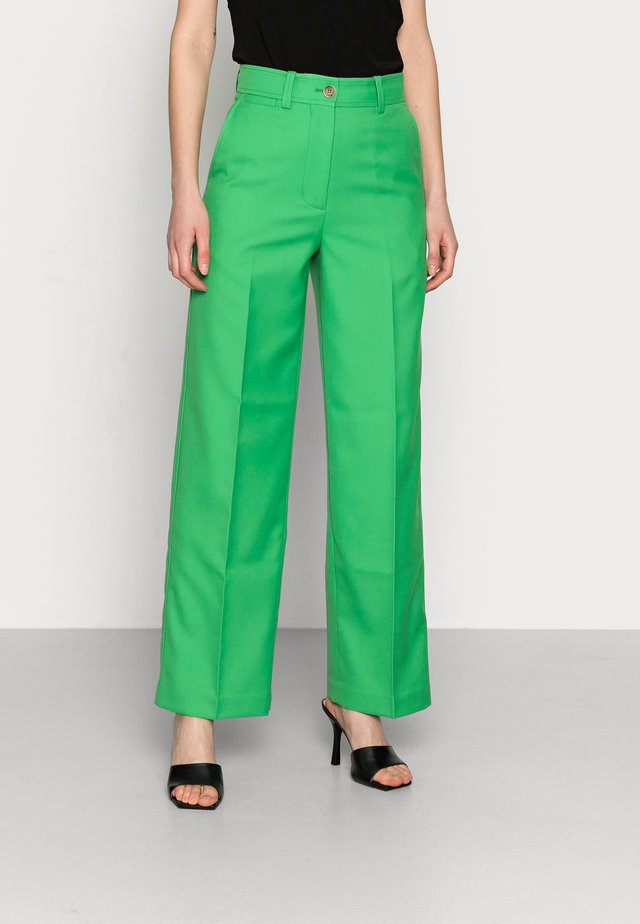 TROUSER - Trousers - green