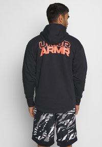 Under Armour - Zip-up hoodie - black - 2