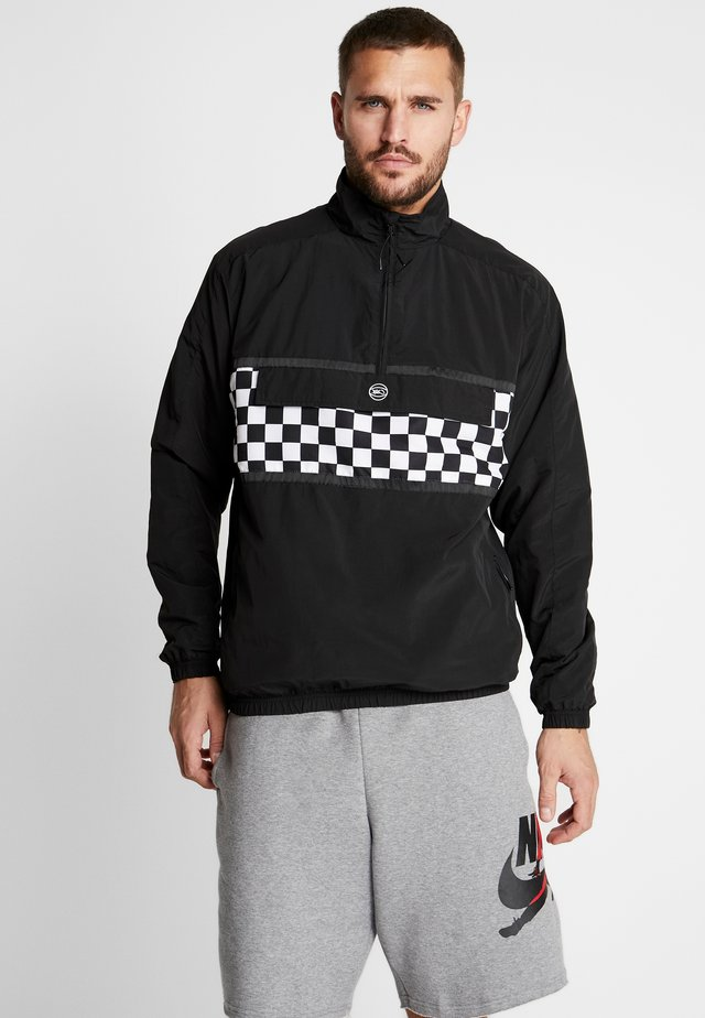 CHECKER JACKET - Training jacket - black