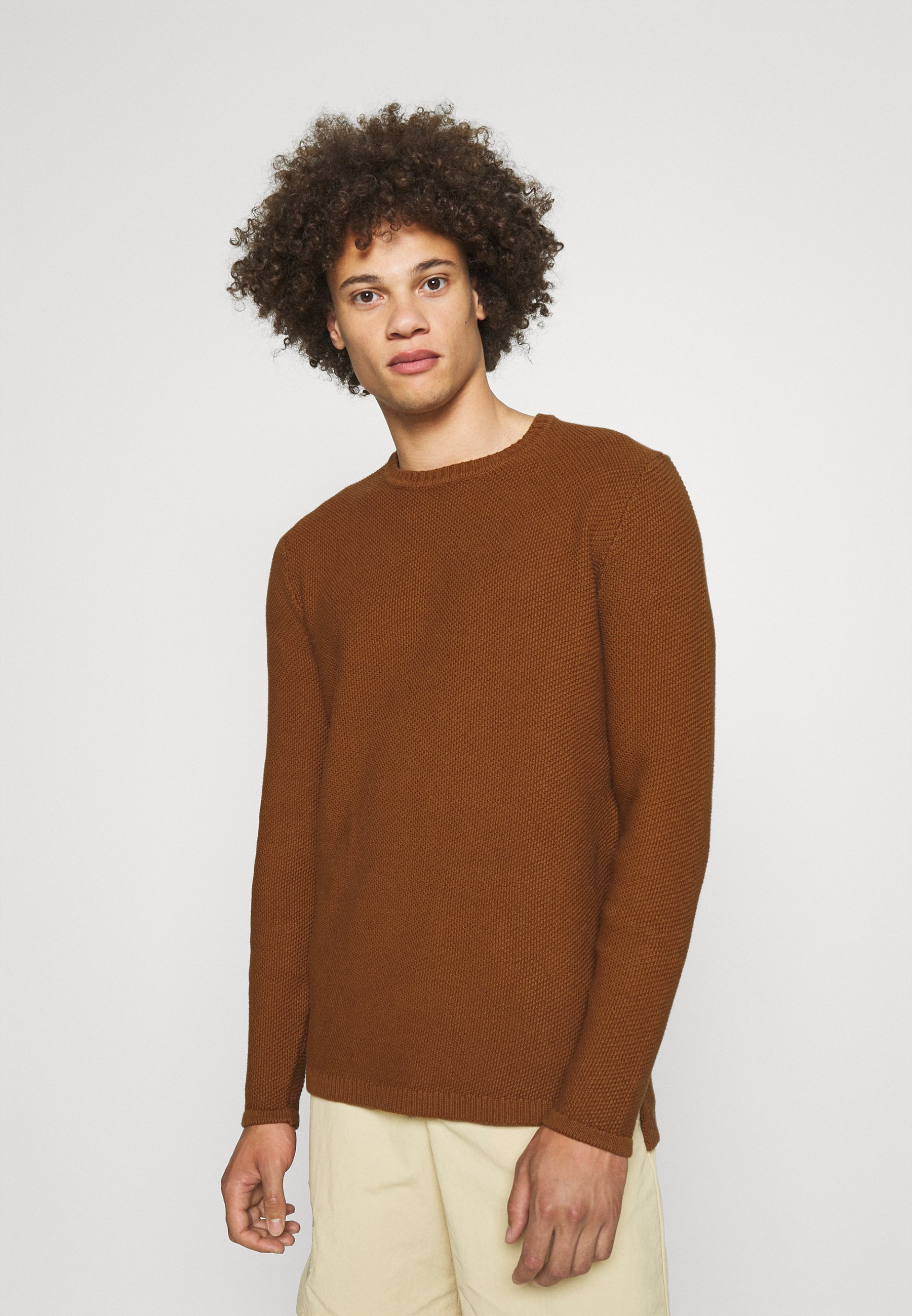 Homme ONSDAN STRUCTURE CREW NECK  - Pullover