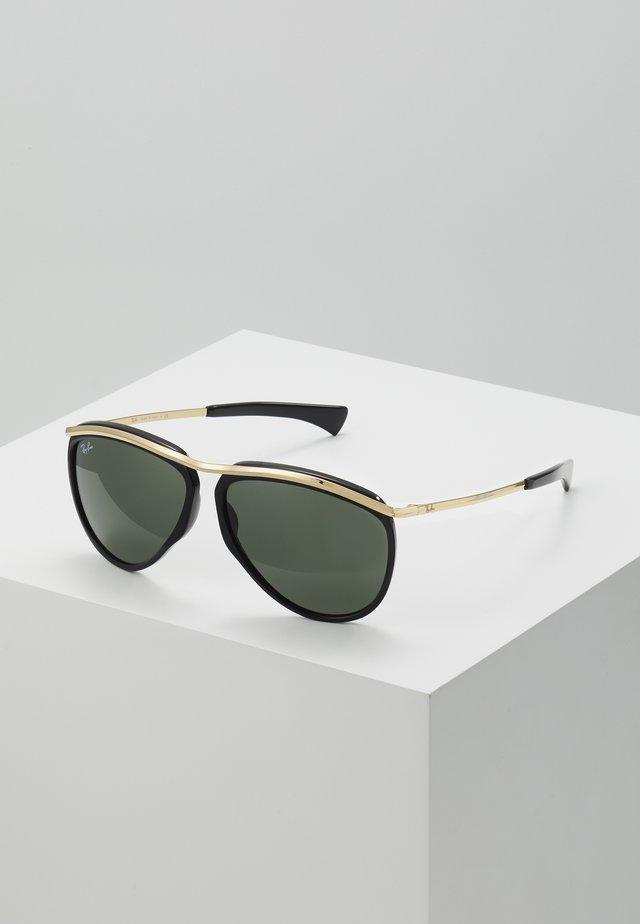 Zonnebril - black/green