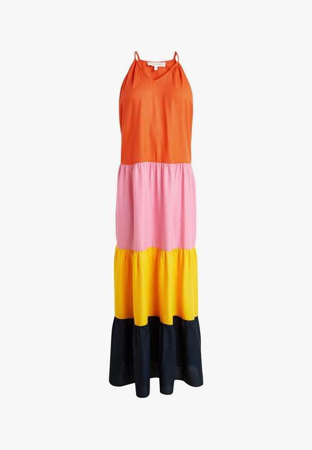 TIERED - Maxi dress - orange