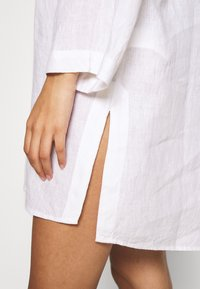 Seafolly - BEACH EDIT HARBOUR COVER UP - Beach accessory - white - 4