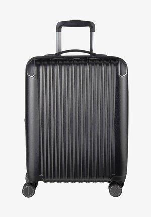 Wheeled suitcase - anthracite metallic