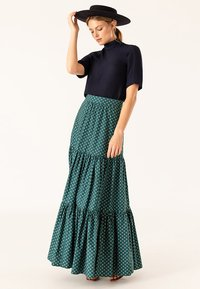 IVY & OAK - Maxi skirt - green - 1