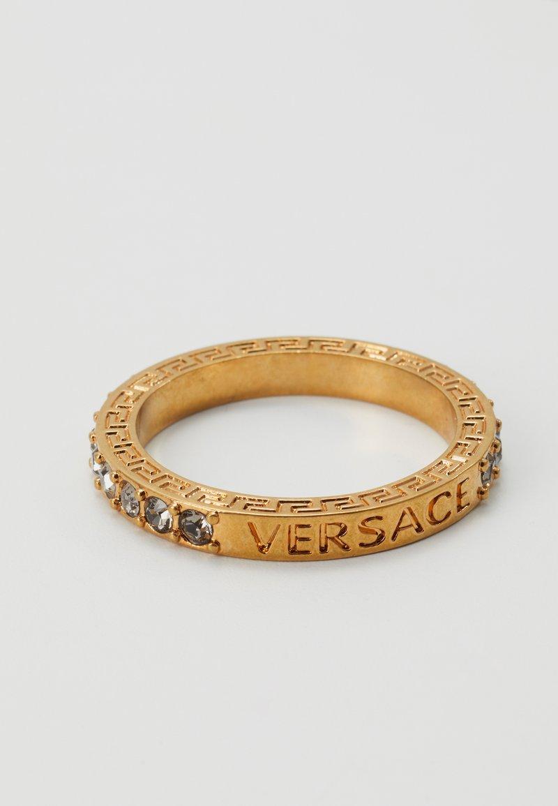 Versace - Ring - nero/oro tribute