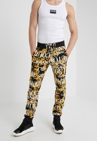 Versace Jeans Couture - PANTALONE - Träningsbyxor - nero - 0