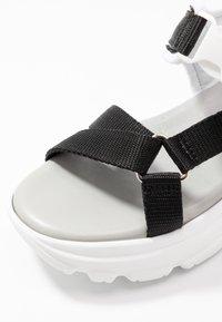 Esprit - HUNKY  - Platform sandals - black - 2