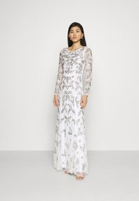 Maya Deluxe - ALL OVER FLORAL DRESS - Occasion wear - ivory - 1