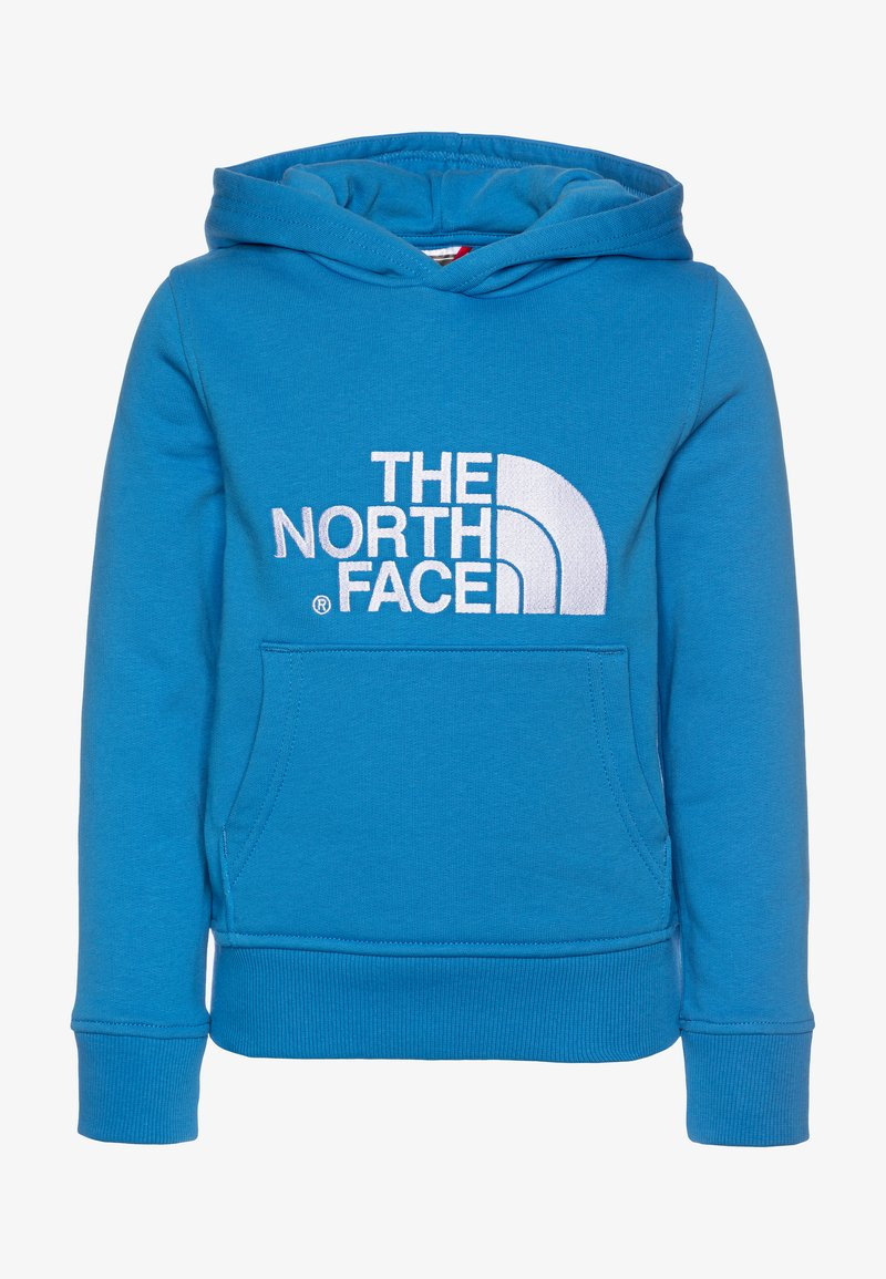 The North Face - YOUTH DREW PEAK HOODIE UNISEX - Kapuzenpullover - clear lake blue/white