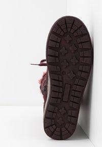Lurchi - ALPY-TEX - Zimní obuv - aubergine - 5