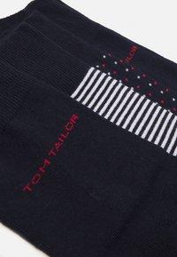 TOM TAILOR - SOCKS 4 PACK - Ponožky - dark blue - 1
