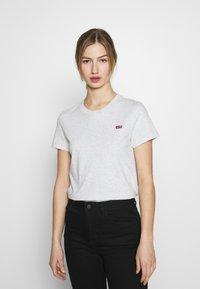 Levi's® - PERFECT TEE - T-shirt basic - orbit heather gray - 0