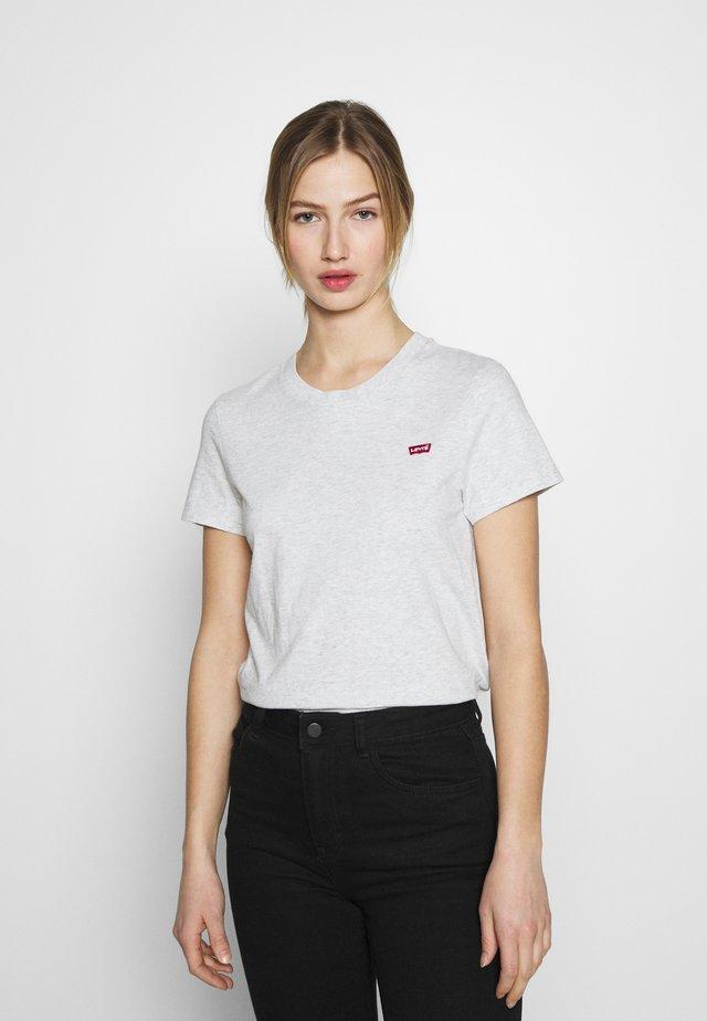 PERFECT TEE - Basic T-shirt - orbit heather gray