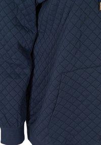 Zizzi - Zip-up hoodie - blue - 4