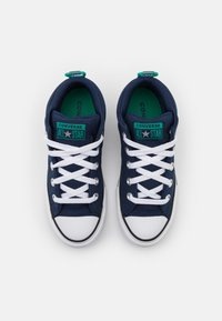 Converse - CHUCK TAYLOR ALL STAR STREET SEASONAL UNISEX - High-top trainers - midnight navy/court green/digital blue - 3