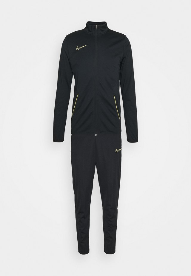 DRY ACADEMY SUIT SET - Tuta - black/saturn gold