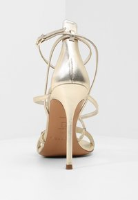 Pura Lopez - High heeled sandals - metal platin - 5