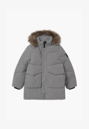 NKNMARO PUFFER - Winter coat - frost gray
