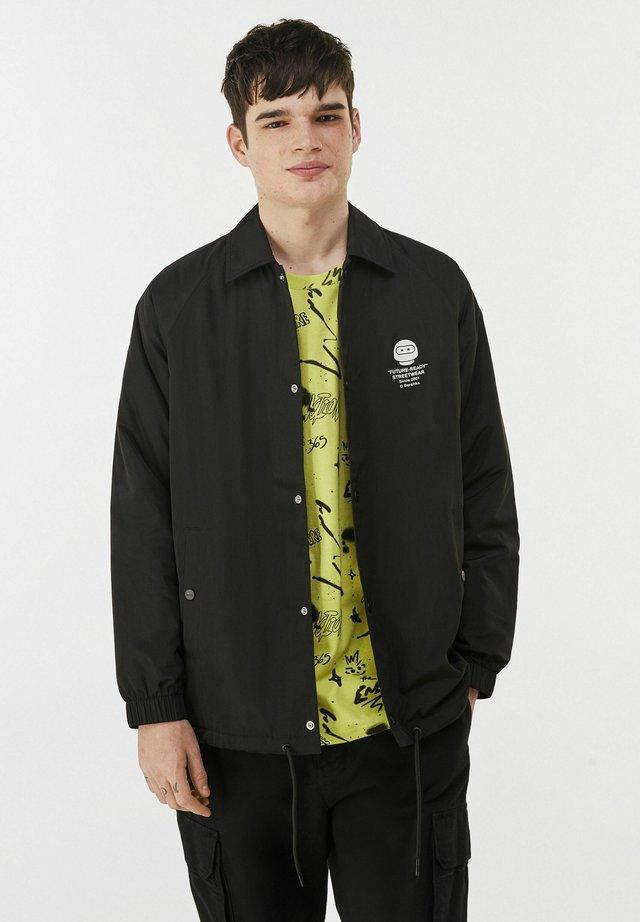 Veste mi-saison - black