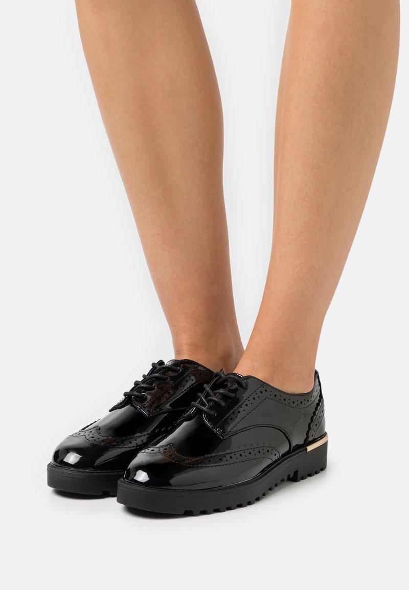 New Look - JITTERS - Snøresko - black