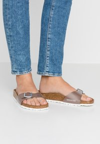 Birkenstock - MADRID  - Slippers - pearly hazel - 0