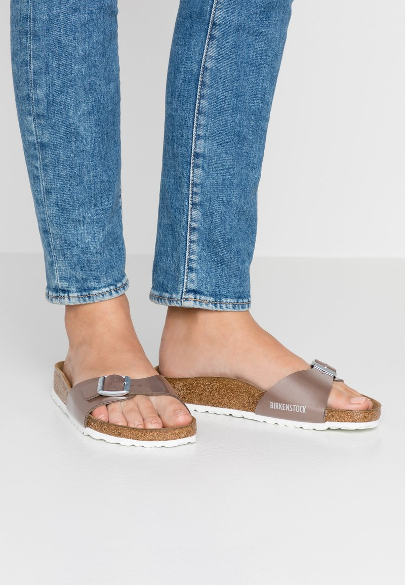 Birkenstock - MADRID  - Slippers - pearly hazel