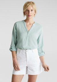 Esprit - Denim shorts - white - 3