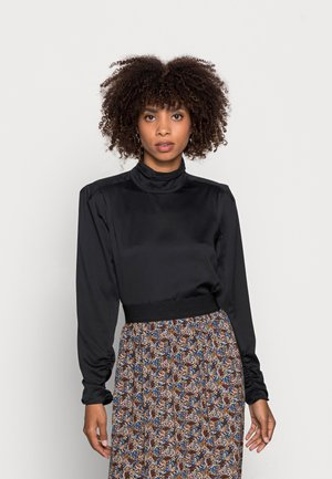 RORY BLOUSE - Long sleeved top - black