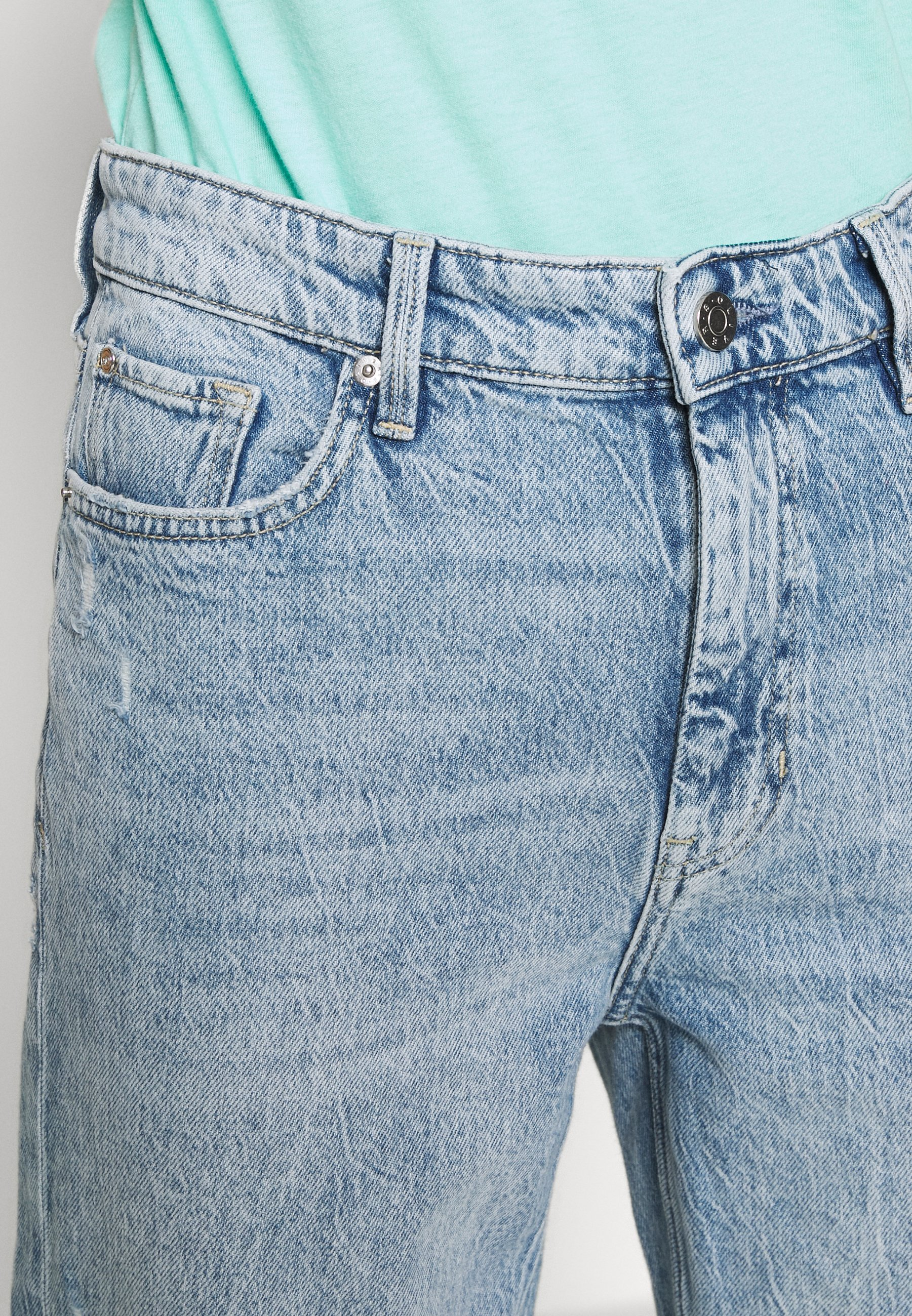 S.oliver Jeans Relaxed Fit - Soft Blue Denim