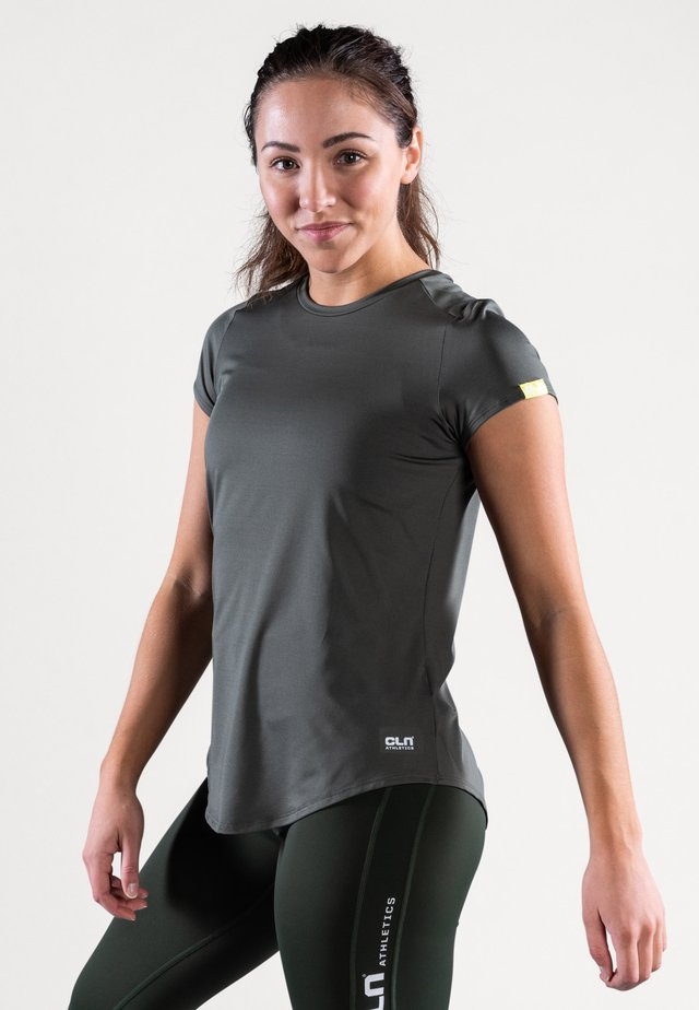 T-shirt basique - moss green