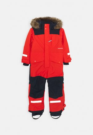 BJÖRNEN KIDS COVER - Overall - poppy red