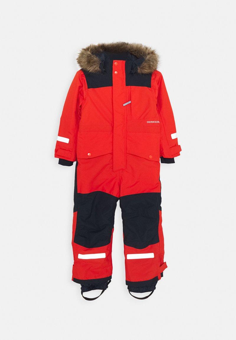 Didriksons - BJÖRNEN KIDS COVER - Snowsuit - poppy red