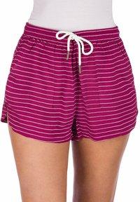 Kazane - ELSA  - Shorts - beaujolais/stripe - 0